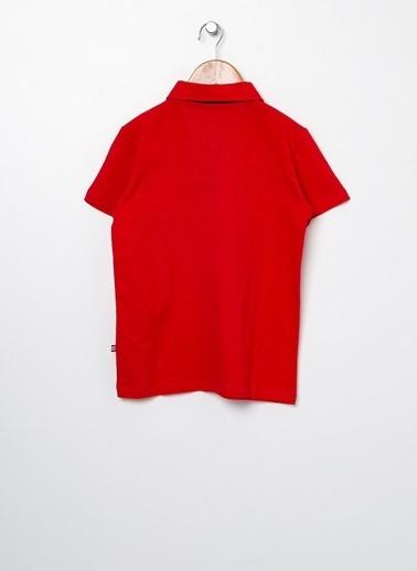 North Of Navy Tişört Kırmızı